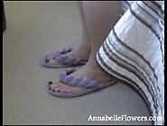Annabelle Flowers Foot Phone Sex