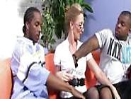Hot Cougar Jenna Covelli Takes Two Bbcs