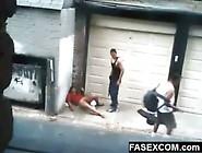 Borracha Se La Follan En La Calle Www. Fasexcom. Com