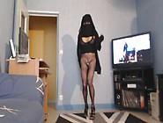 Musulmane Voilée Sans Culotte