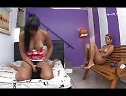 2 Sadistic Lesbian Bullies Take Turn On 1 Girl