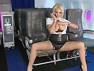 Dannii As Stewardess Who Wants To Be Fucked