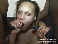 Black Bbw Comes By To Get Fucked By 2 Big Black Cocks In Every H