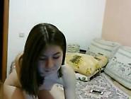 Shy College Girl In Her Dorm