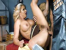 Busty Bombshell Phoenix Marie Gets Her Hairy Twat Plowed