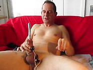 Urethral Finger Fuck And Anal Dong Toys