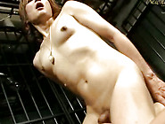 Appealing And Naked Japanese Tranny Is Riding On Huge Dick