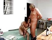 Ladies Find That Hard Cock Is On The Menu In Lunchroom