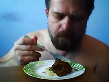 Scat Breakfast - Me Eating Shit