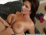 Horny Mature Mom Loves To Have Sex With A Young Boy With Very Bi