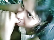 Indian Amateur Black Head Did Her Best While Sucking Her Man Dry