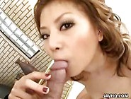 Giving A Nice Blowjob In Pov Is What Japanese Honey Hotaru Akane