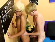 Classic Gay Teen Porn New Boy Ryan Morrison Faces A Large Ch