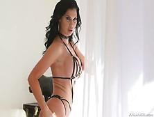 Bosomy Seductress In Sexy Lingerie Jasmine Jae Gets Her Anus Ram