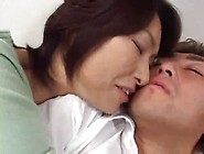 Japanese Milf Mom Seduces Young Man
