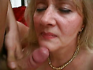 Mom Of My Friend Gets Fucked In Her Mouth By Her Lover