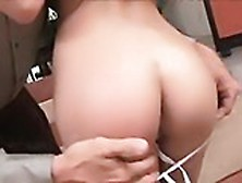 Sultry Brunette Italia Christie Gets Her Hot Slim Body Touched W