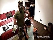 Anonymous Soldier Enjoys A Blowjob
