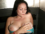 Solo Model With Big Nipples Teases Pussy And Tits In Reality Sho