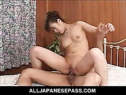 Threesome With Japanese Slut