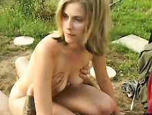 Brianna Beach Takes Her Man Outdoors For Some Deep Fast Boning