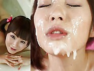Cute Miku Ohashi - Bathing Bukkake!