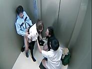 The Japanese Hostess Azumi Yukino Coerced Into Sex In The Elevat