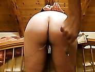 Nasty Fat Booty Of My Submissive White Wife Teased With Cloth Pi