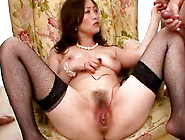 Pearl Wearing Mom Miyama Ranko Plays With Her Milf Pussy