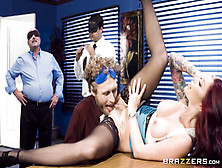 """Shameless Office Suited Mom At Brazzers """"team Building Sexce"""