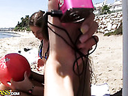Torrid Weekend Orgy Party On The Beach With Filthy Students