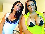 Hot Tempered Latina Temptress With Massive Knockers Dances Aroun
