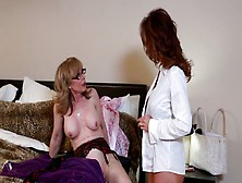 Nina Hartley And Deauxma-Lesbian Scene