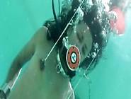 Drea Morgan Frogtied Underwater