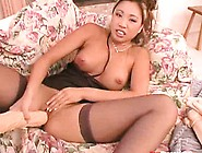 Miko Lee Is An Asian Babe With A Hairless Cunt And The Need To F