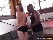 Redhead Pepper Hart Gets Stretched By Mandigos Bbc
