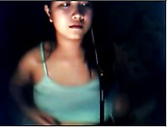 Shy Filipina Opens Up For Cam
