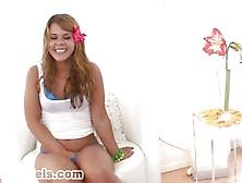 Elizabeth Bentley 18 Years Old Babe Swallows Cum