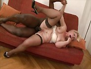 Blonde Granny's Ass Drilled By A Fat Bbc