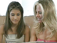 Desirable Ramona Helps Her Friend Kim With The Lesbian Pussy Lic