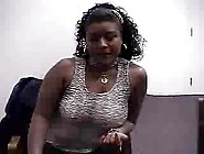Audition #41 (23 Y. O.  Curvy Ebony Girl)