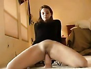 Masturbating With A Toy And Squirting