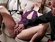 Olivia Nova Tied Up For A Seductive Lovemaking Session