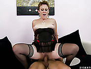 Mature Trollop Rides Her Lover's Dick Like A Real Pro