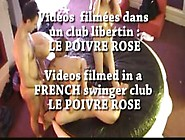 French Swinger Party In A Private Club Part 08