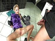 Sex And Golden Shower In The Bathroom With Nathaly Cherie In Clo