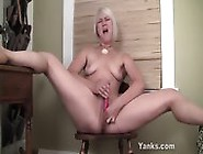 Small Titted Fallon Fingering Her Pussy