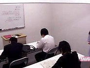 Asian Babe Is At School Kissing With The Boys