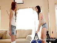 Nubiles-Casting Video: Marissa Mei & Aurora Monroe