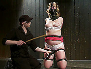 Sofia Lauryn Gets Her Ass Beaten And Toyed Hard In Terrific Bdsm